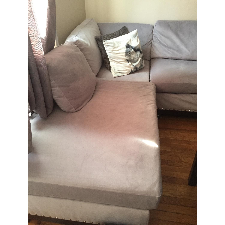 Coaster Fine Furniture Grey Sectional Sofa - image-3