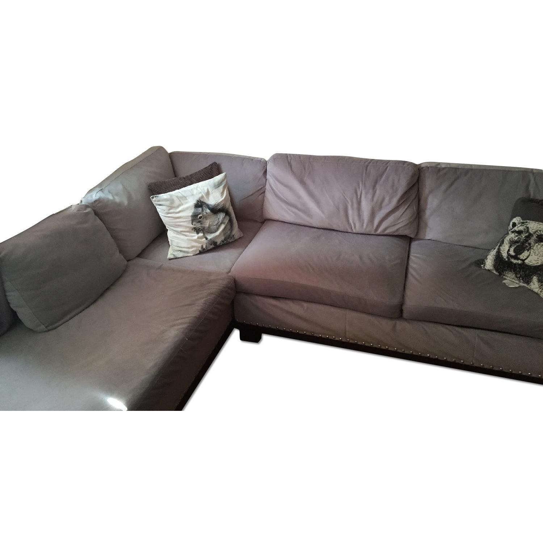 Coaster Fine Furniture Grey Sectional Sofa - image-0