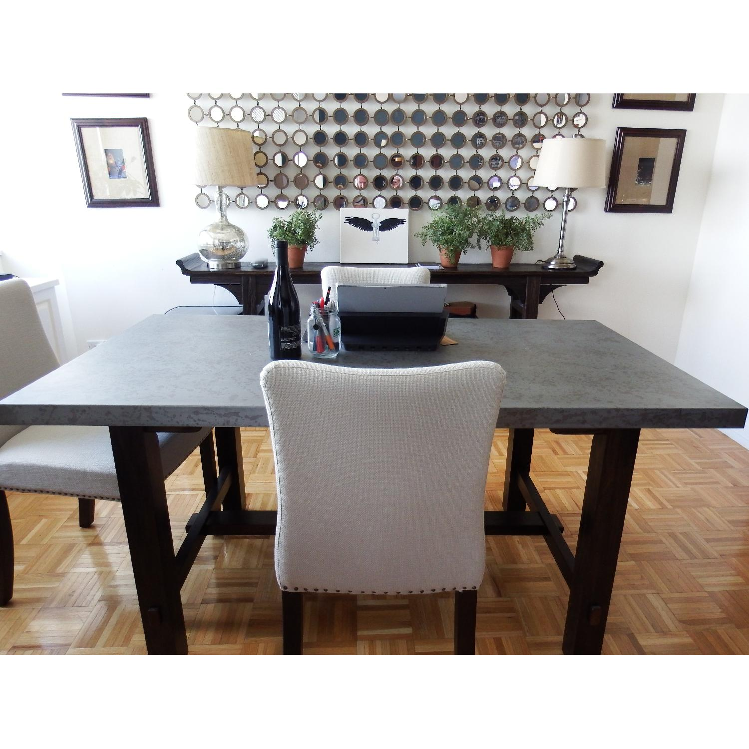 Zinc Top Dining Table - image-2