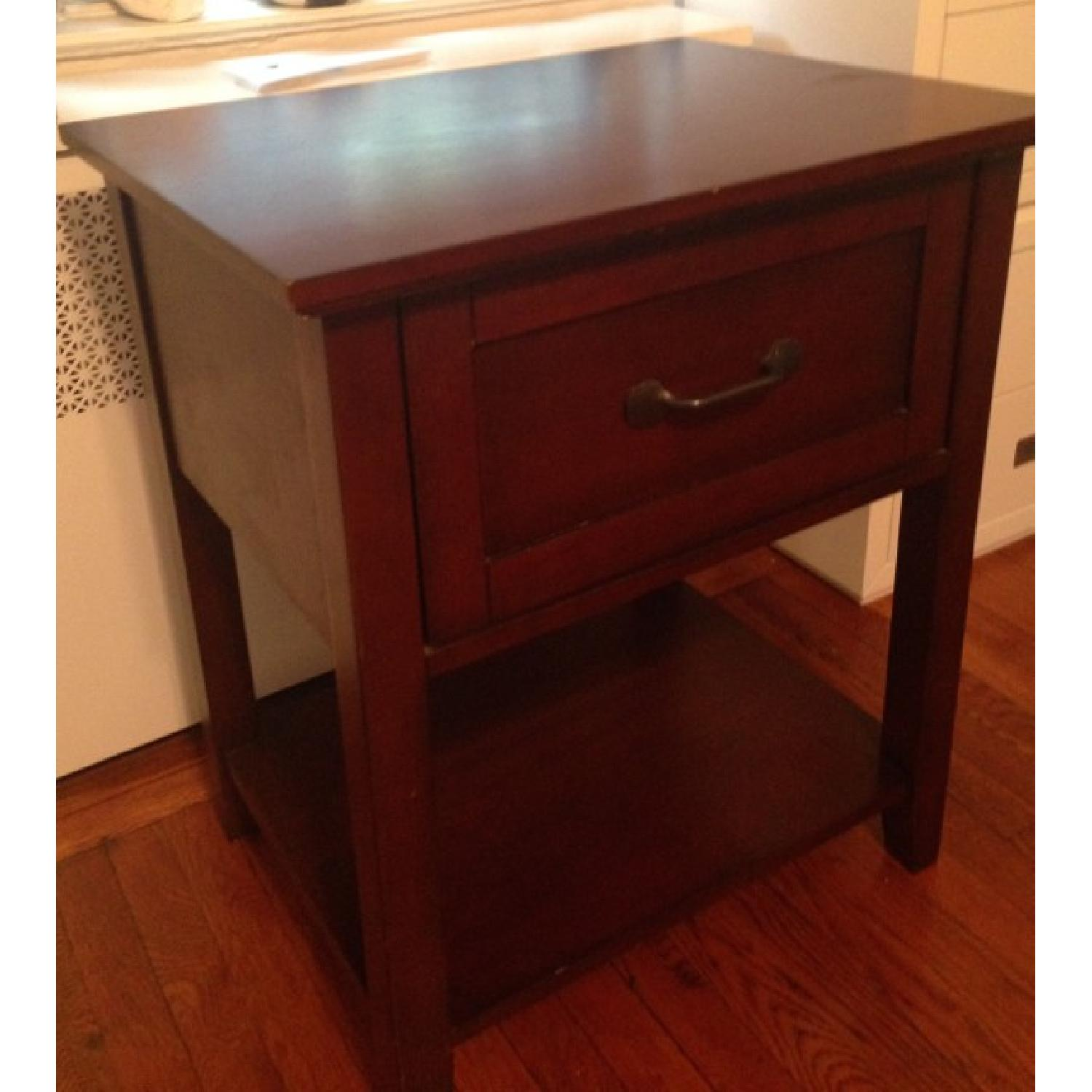 Pottery Barn Stratton Bedside Table - image-1