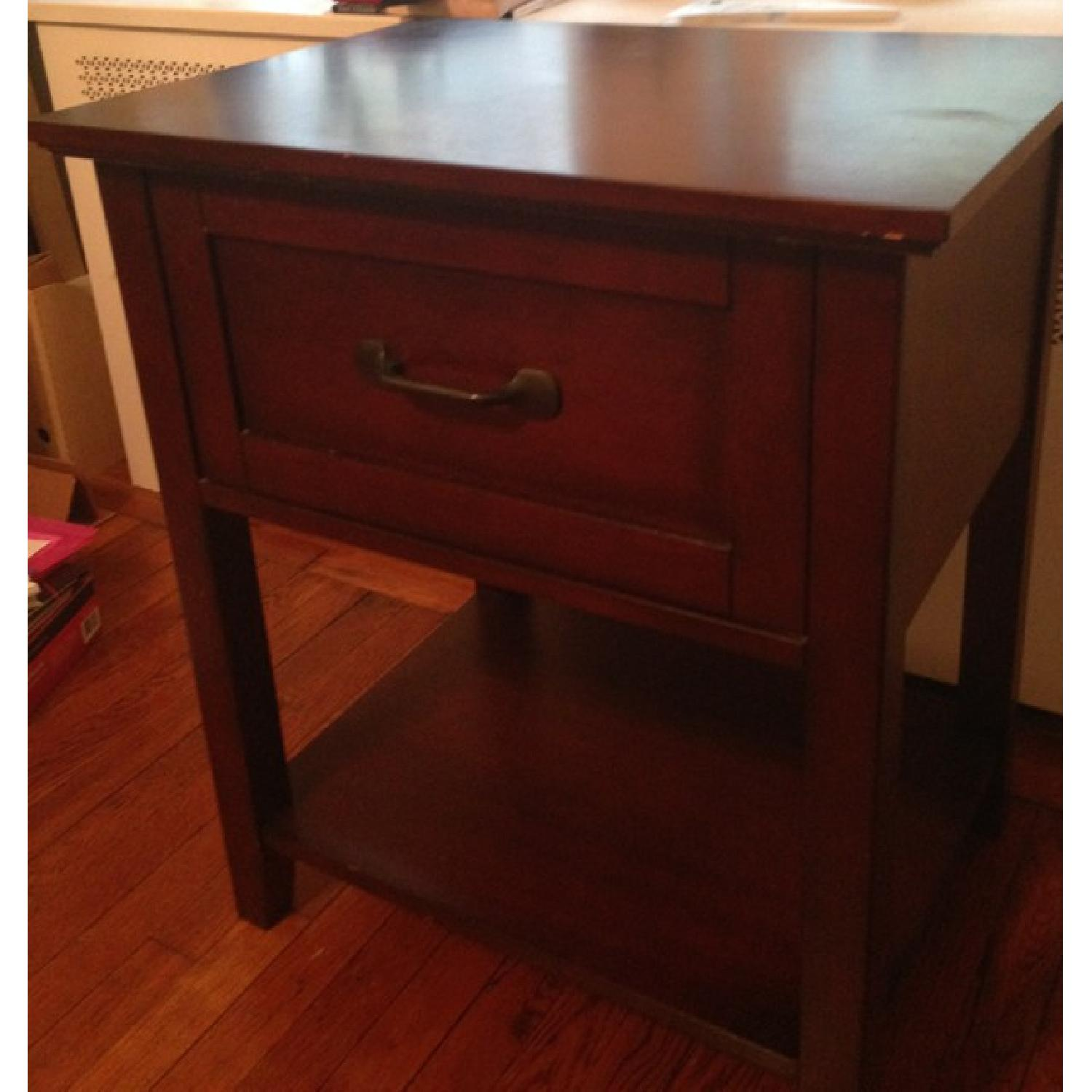 Pottery Barn Stratton Bedside Table - image-2