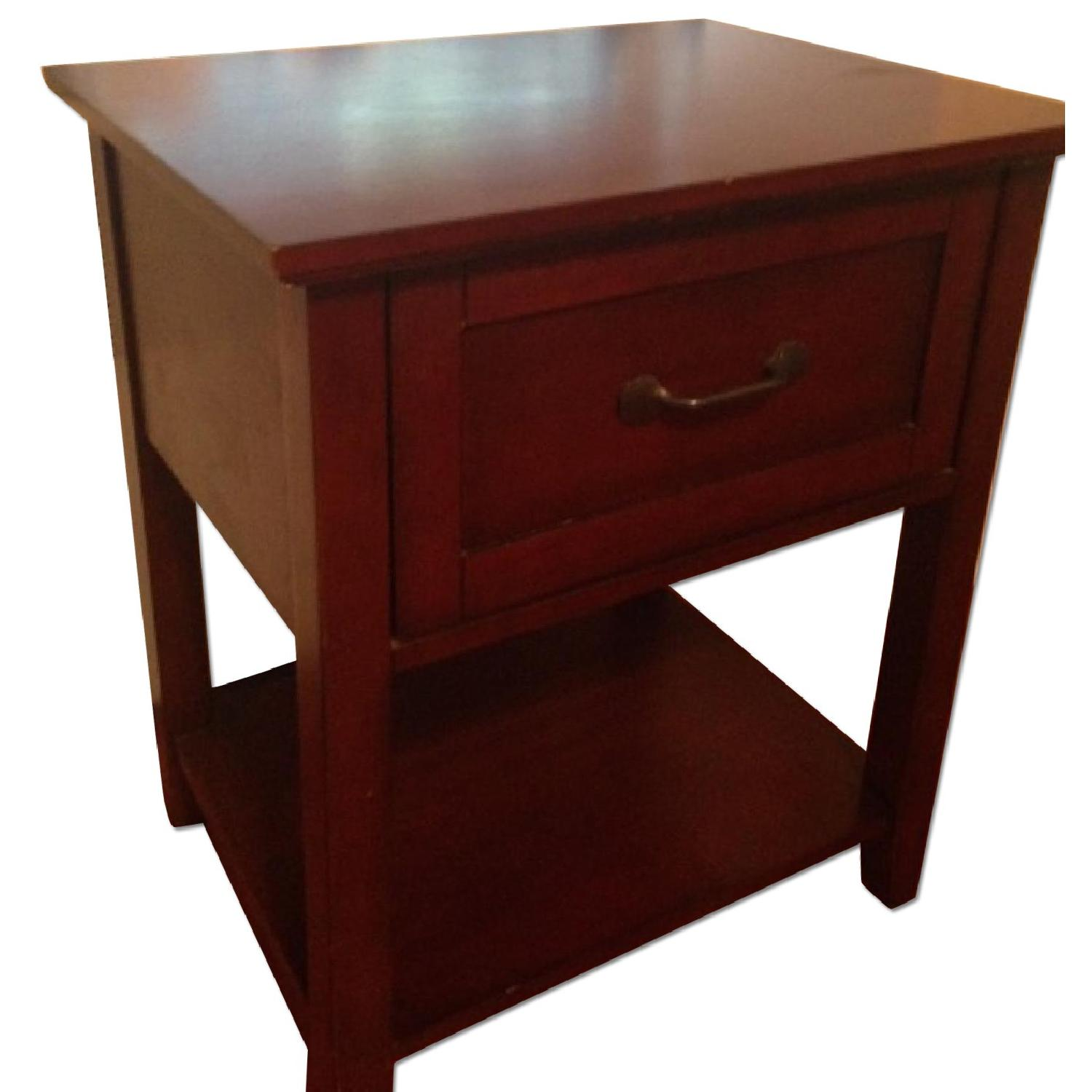 Pottery Barn Stratton Bedside Table - image-0