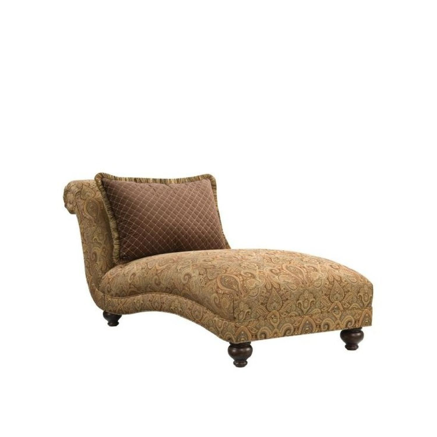 Cindy Crawford Collection Armless Chaise Lounge - image-0