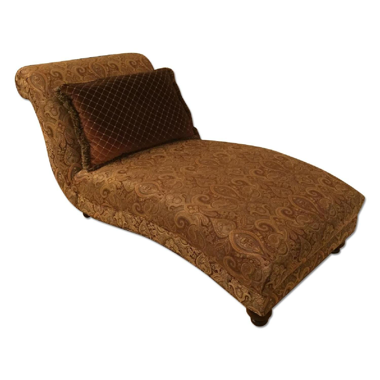 Cindy Crawford Collection Armless Chaise Lounge - image-1
