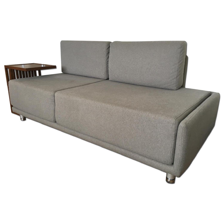 Custom Loveseat + Side Table - image-4