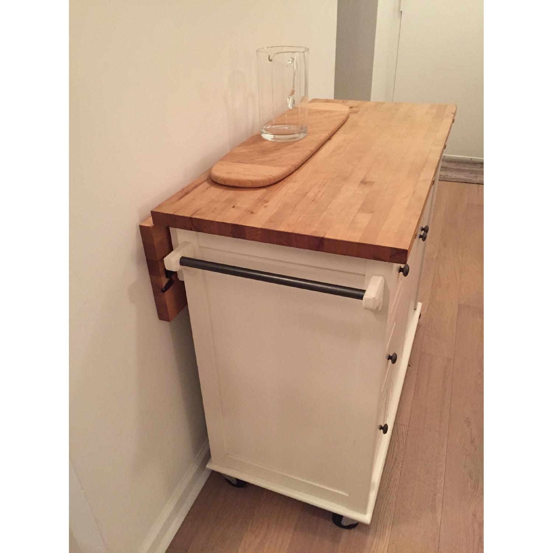 Crate & Barrel Kitchen Island - image-2