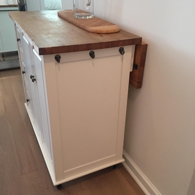 Crate & Barrel Kitchen Island - image-5