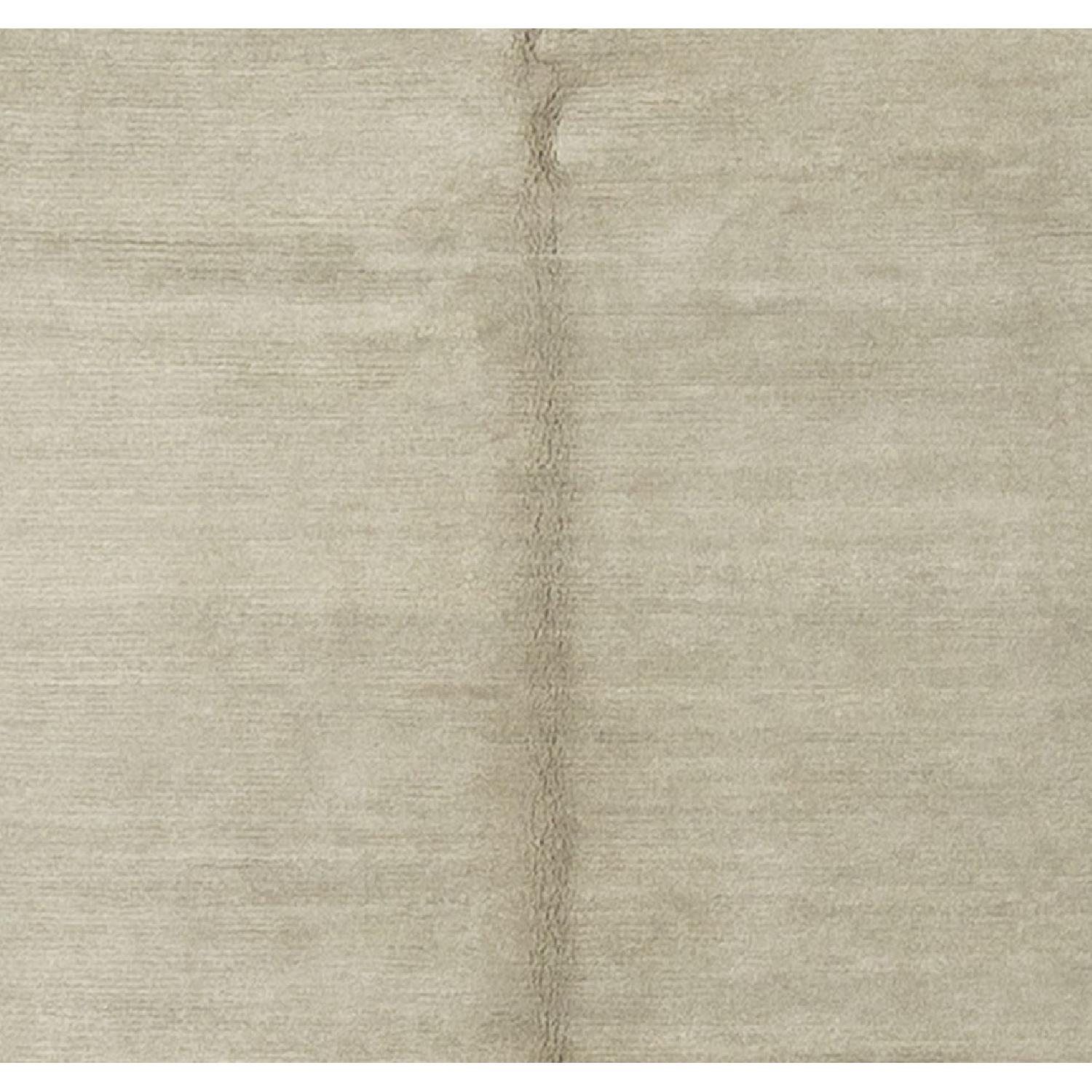 Modern Contemporary Hand Knotted Wool Rug in Multi Colors - image-1