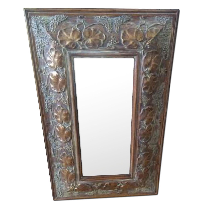 4 Wall Art + Wall Mirror - image-0