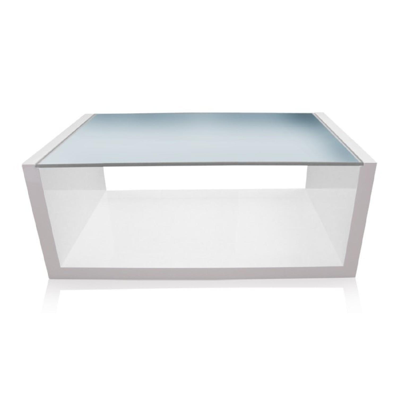 Modani Flavia White Coffee Table - image-0