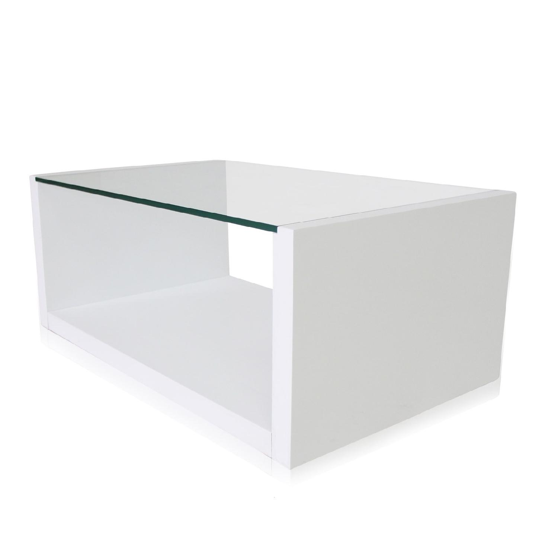 Modani Flavia White Coffee Table - image-2