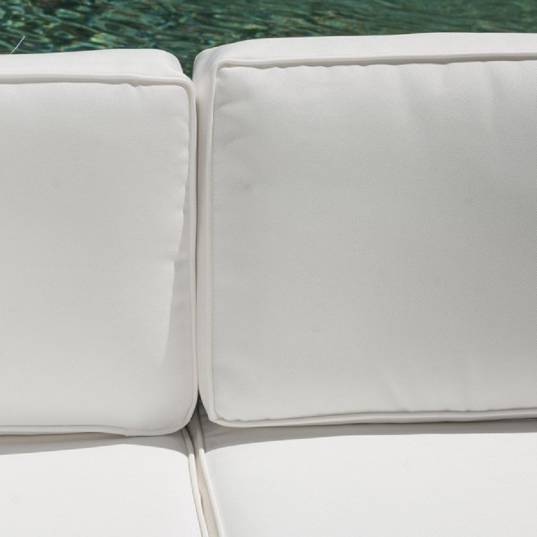 Christopher Knight Home Santa Cruz Outdoor Grey Wicker Armless Chair & Table - image-2