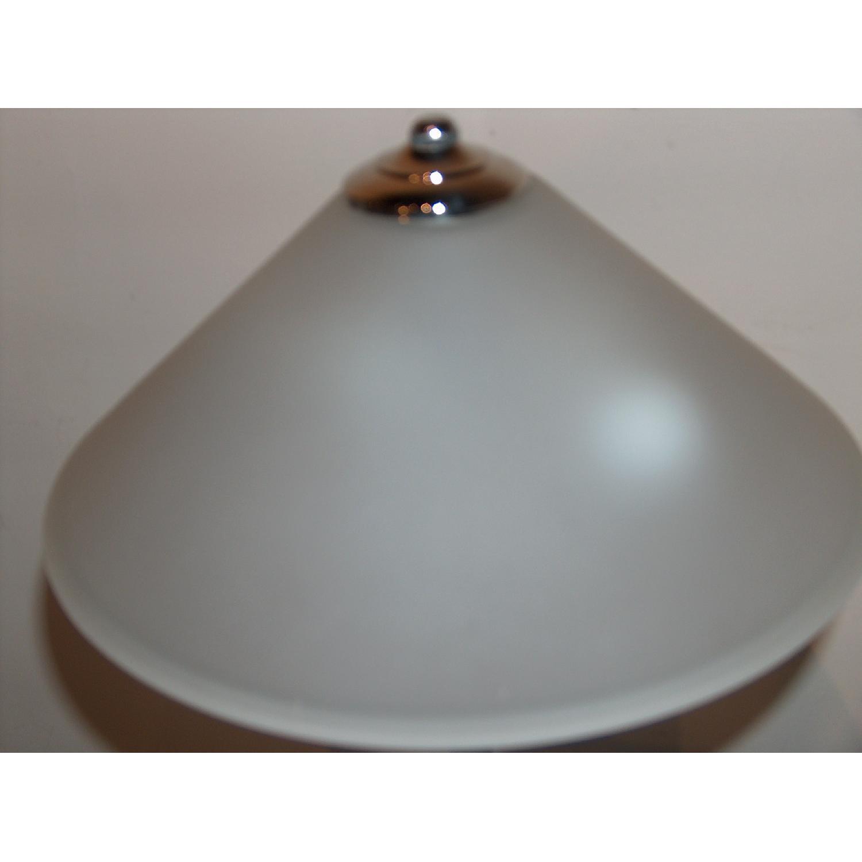 1970.s George Kovacs Chrome & Acrylic Table Lamp - image-3