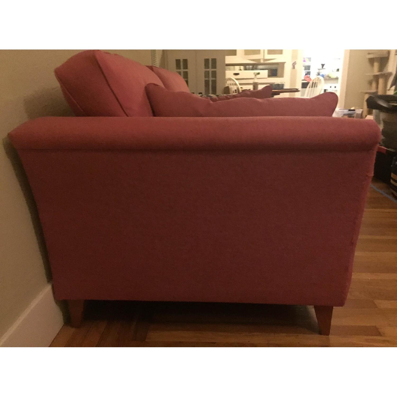 Custom Alpha Design Sofa in Pink - image-2