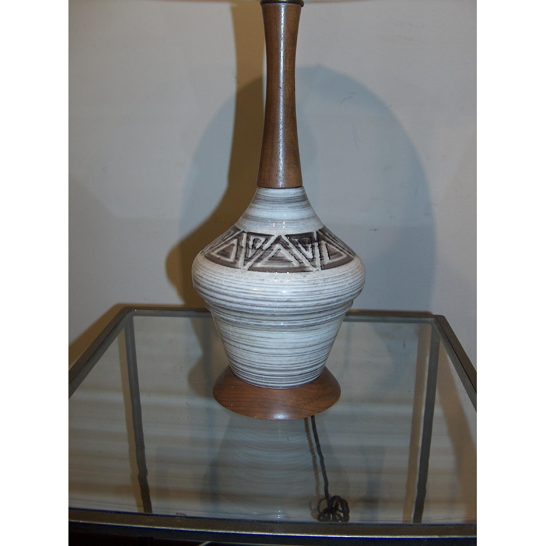 Mid Century Original Ceramic Table Lamp - image-2