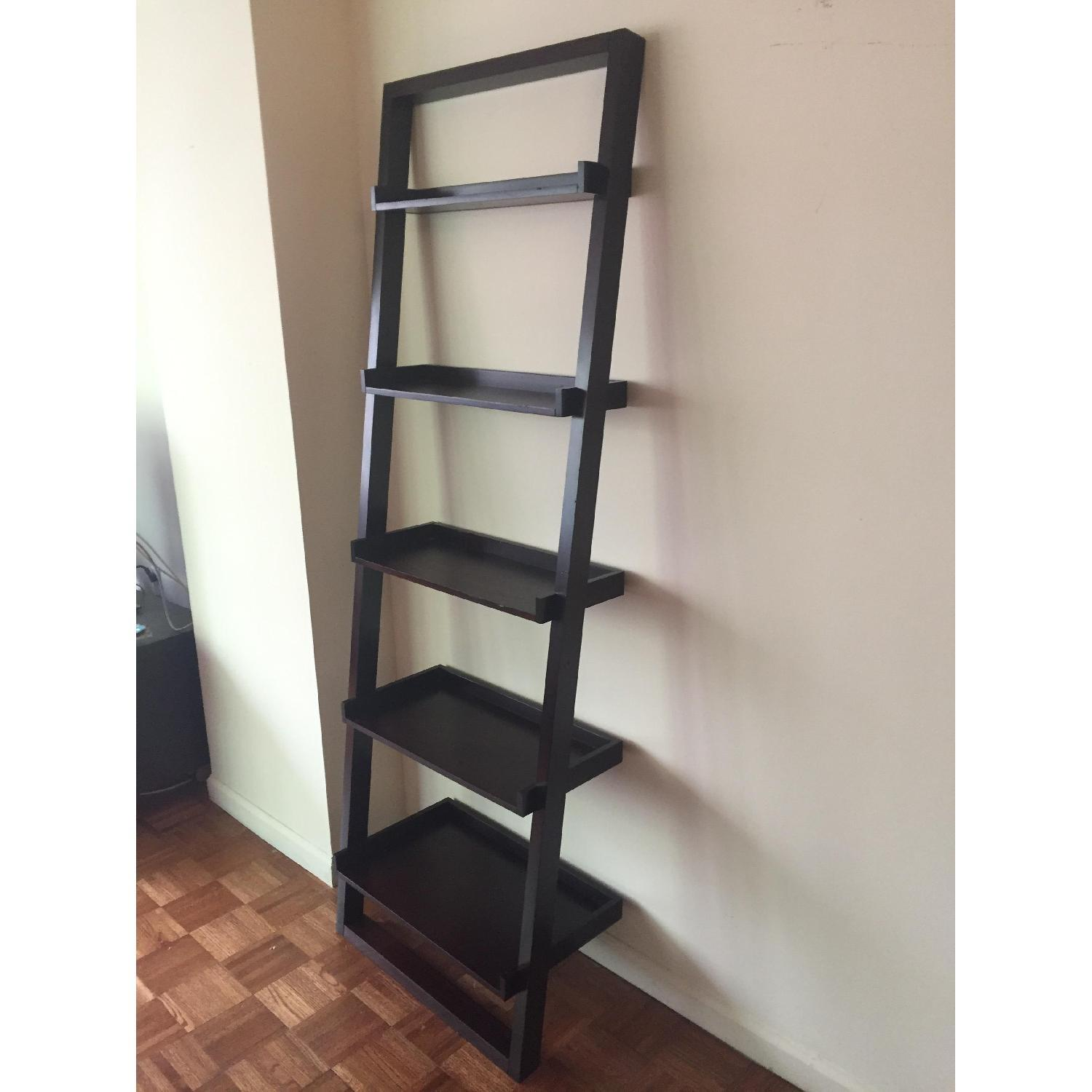 Crate & Barrel Leaning Bookcase - image-2