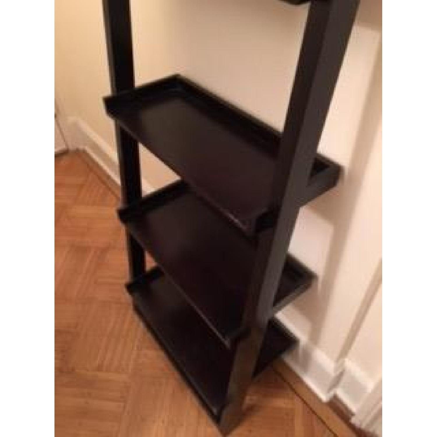 Crate & Barrel Leaning Bookcase - image-3