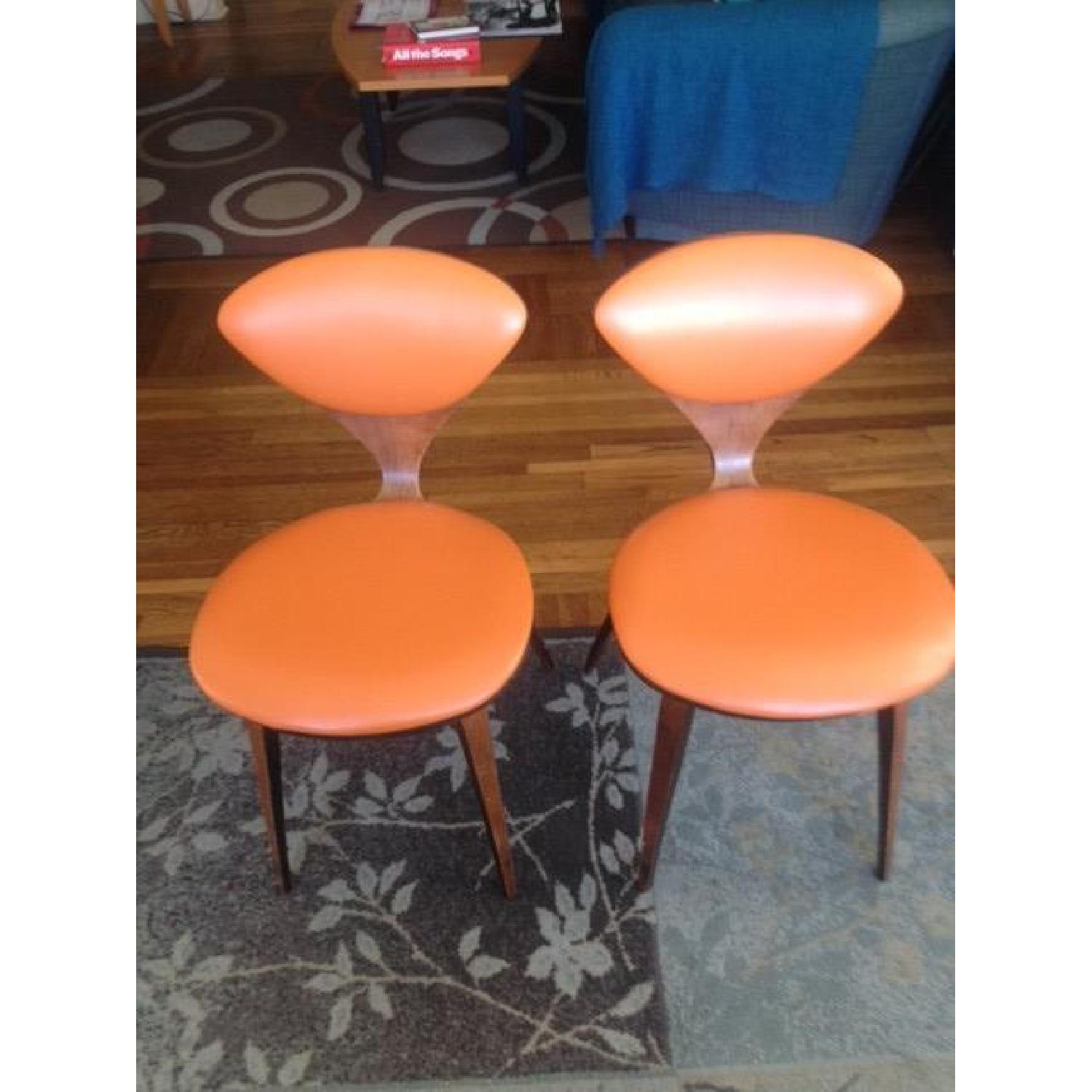 Norman Cherner Plycraft Side Chairs - image-1