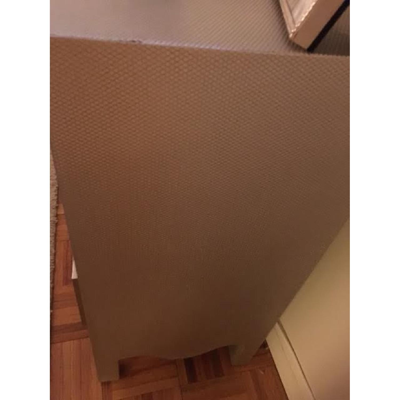 Wayfair Silver/Grey Textured Chest/Dresser - image-3