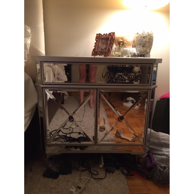 Mirrored Nightstand/Dresser - image-1