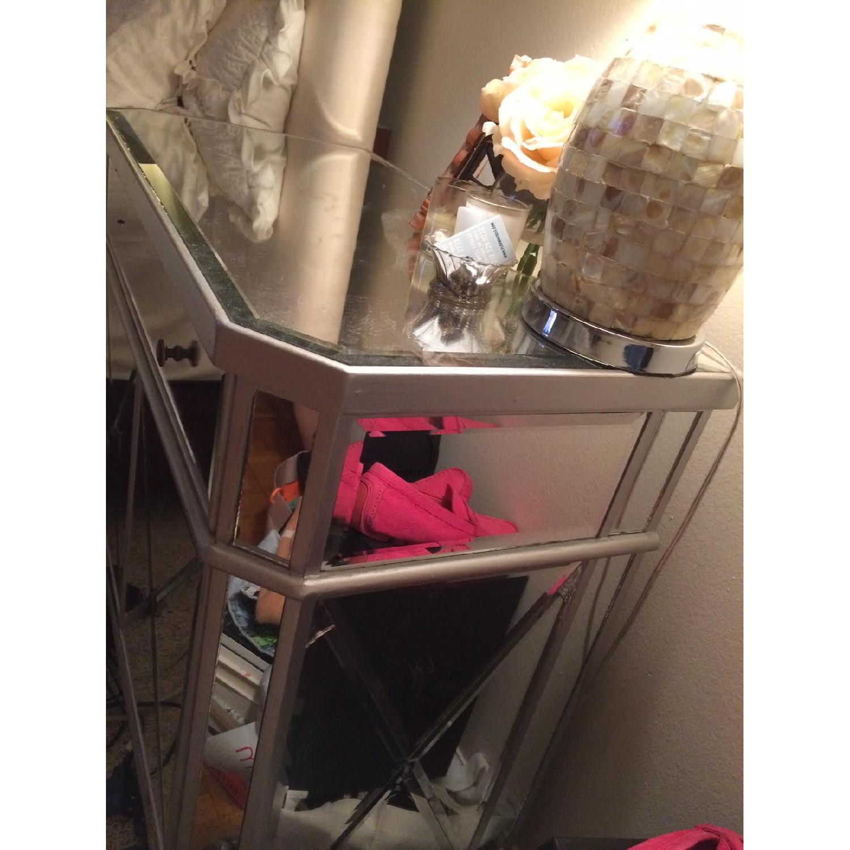 Mirrored Nightstand/Dresser - image-2