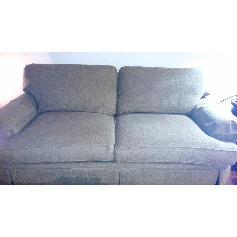 Bassett Furniture Sofa in Light Green