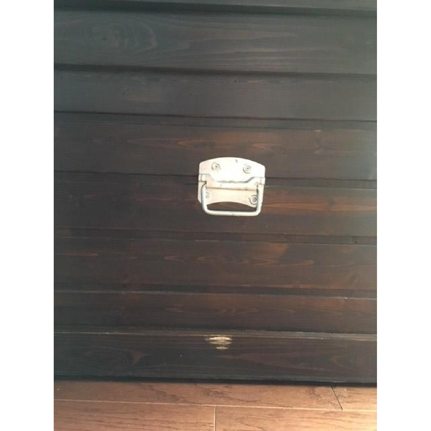 Gothic Cabinet Craft Coffee Table Storage Trunk - image-2