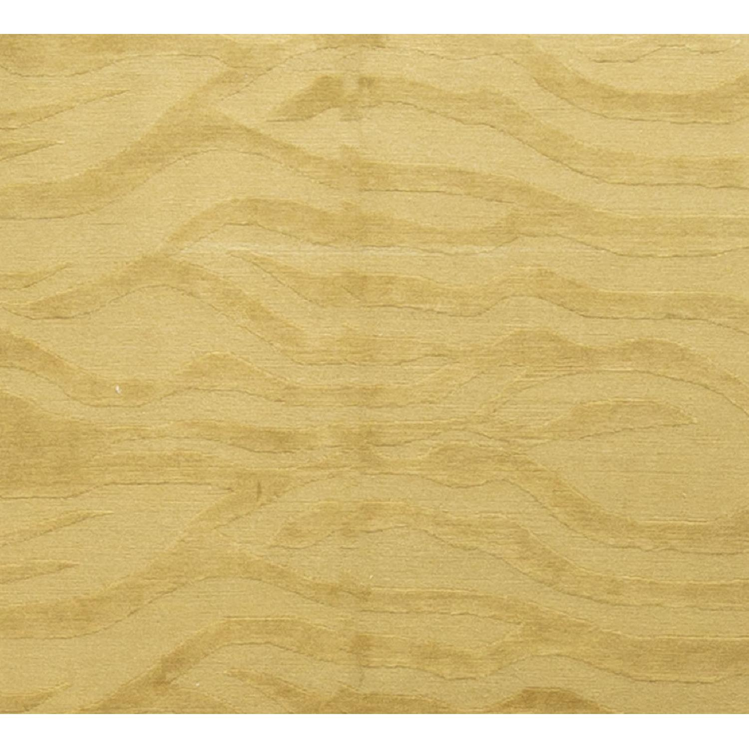Modern Contemporary Hand Knotted Rug in Gold - image-2