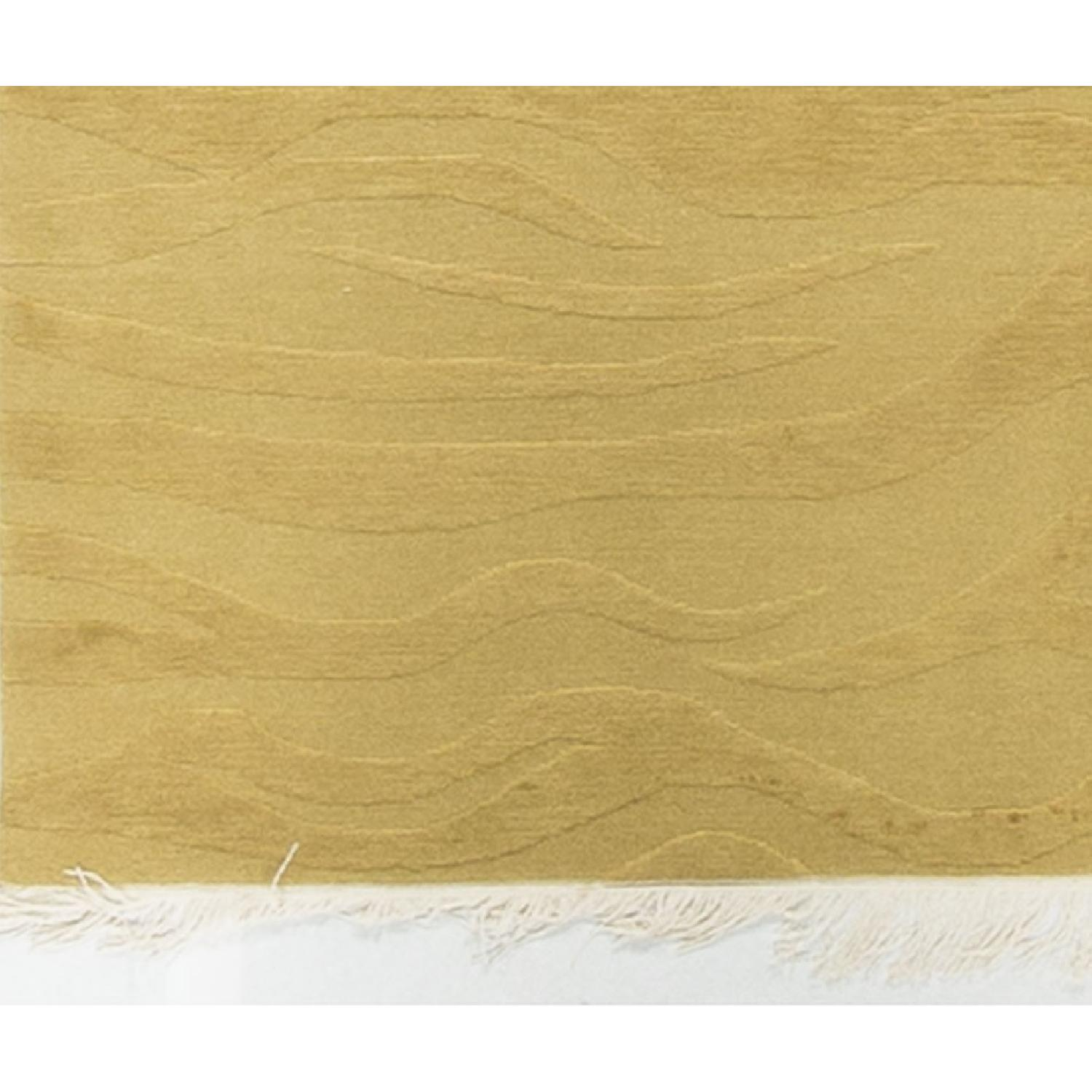 Modern Contemporary Hand Knotted Rug in Gold - image-3