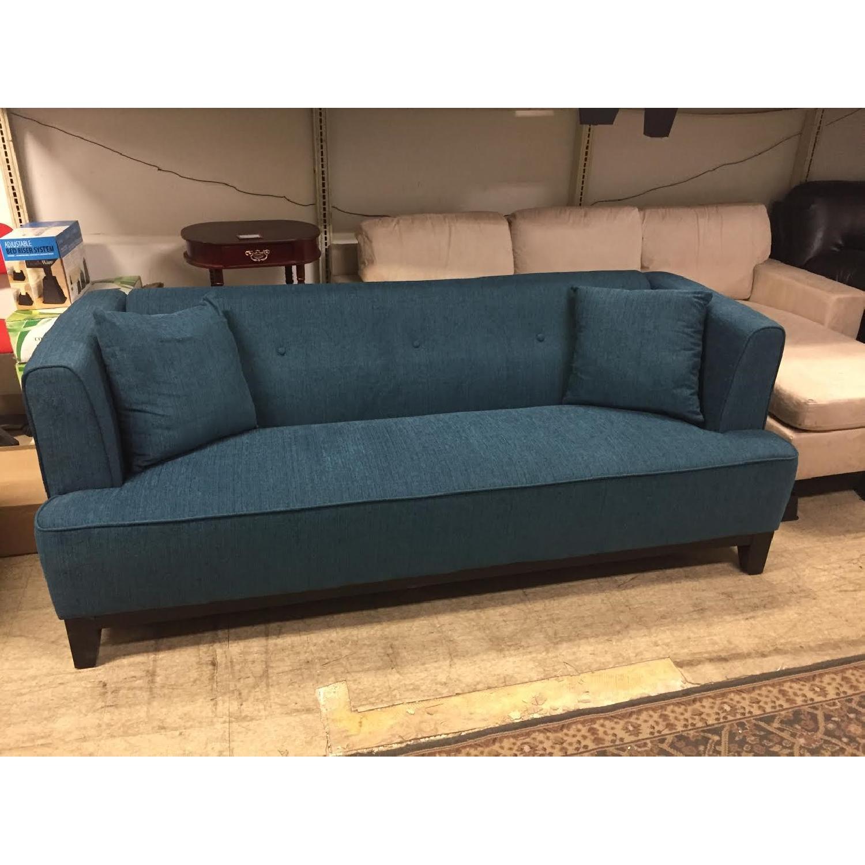Furniture of America Sofia Dark Teal Sofa - image-5
