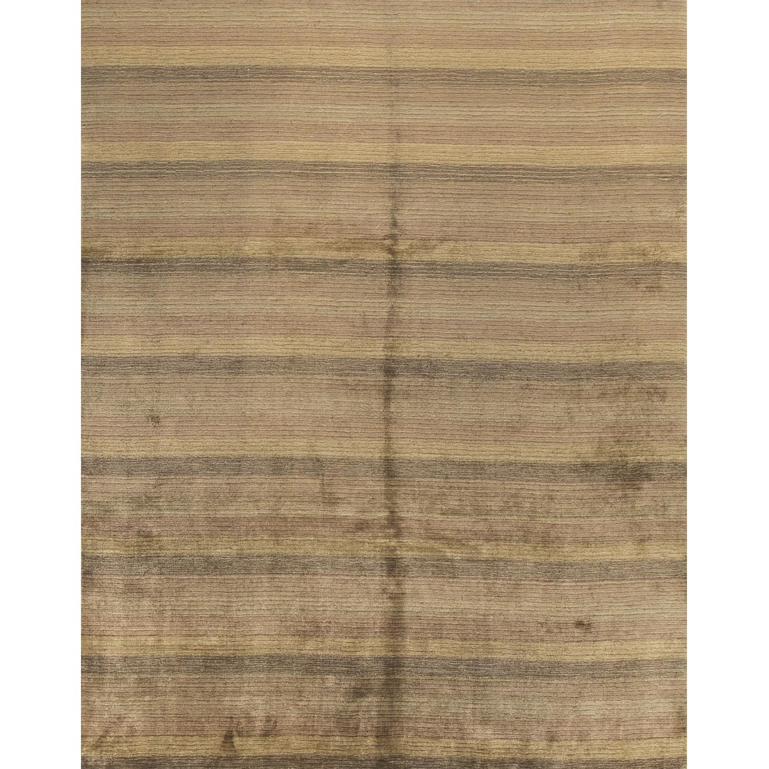 Modern Contemporary Hand Knotted Wool Rug in Multi Colors - image-0