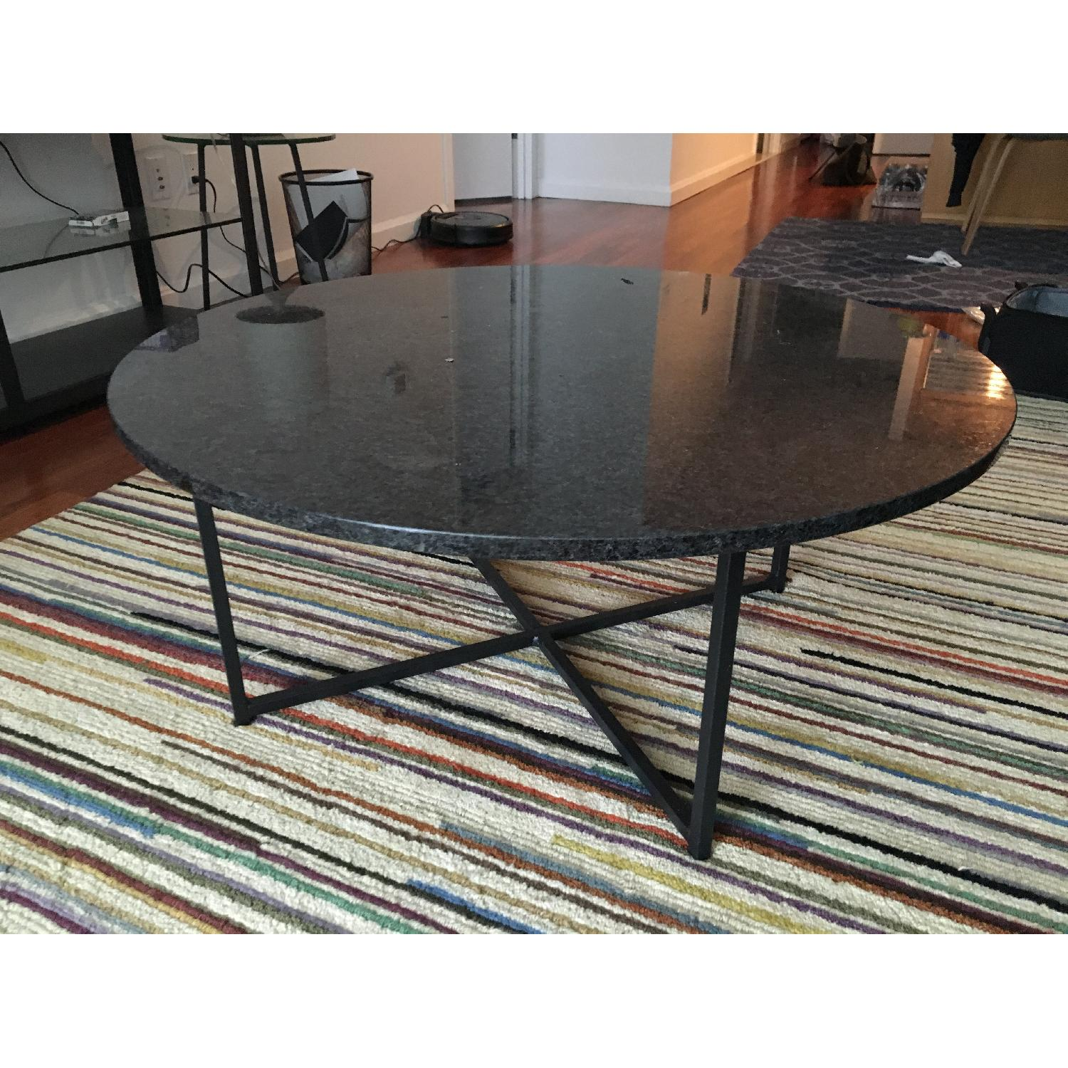 Room & Board Cocktail Table in Natural Steel - image-2
