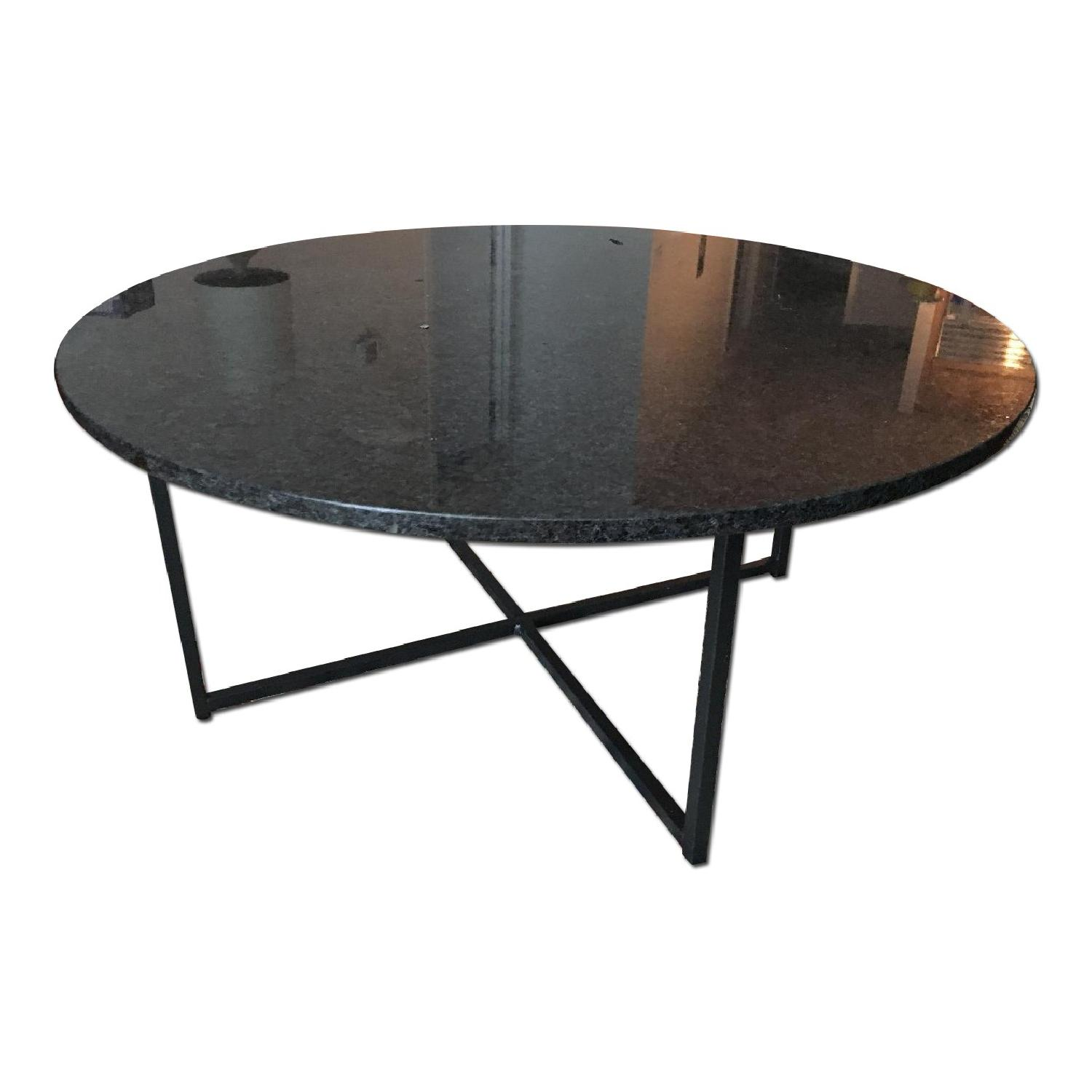 Room & Board Cocktail Table in Natural Steel - image-0