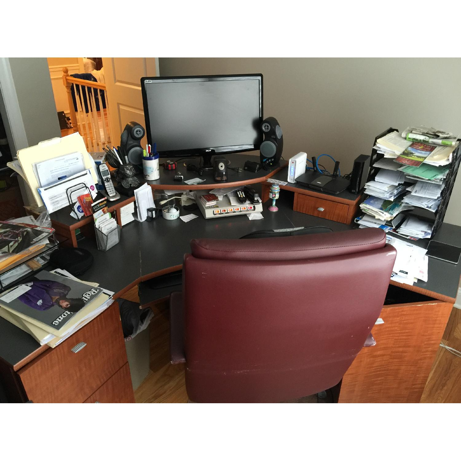 Office Desk & Chair - image-3
