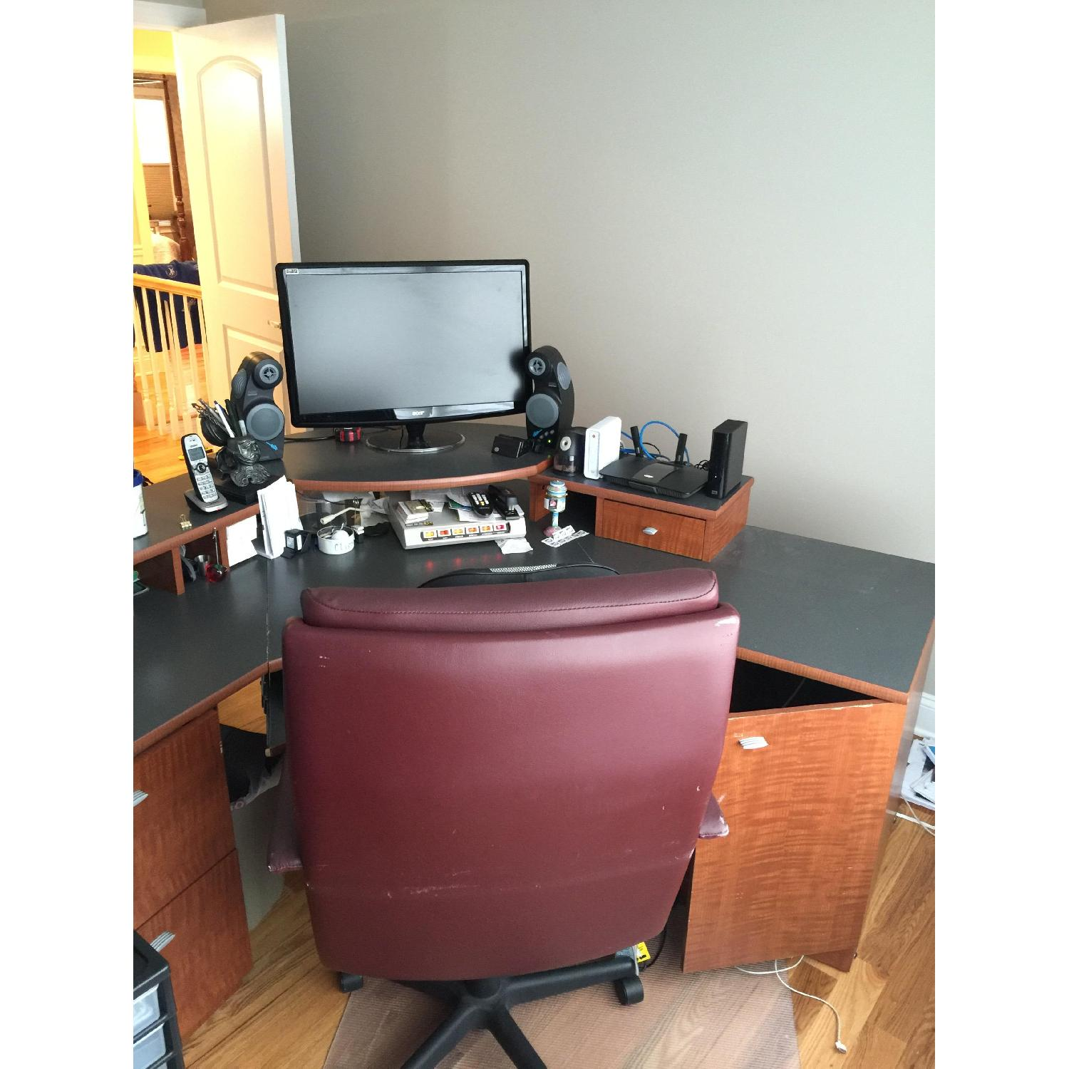 Office Desk & Chair - image-8