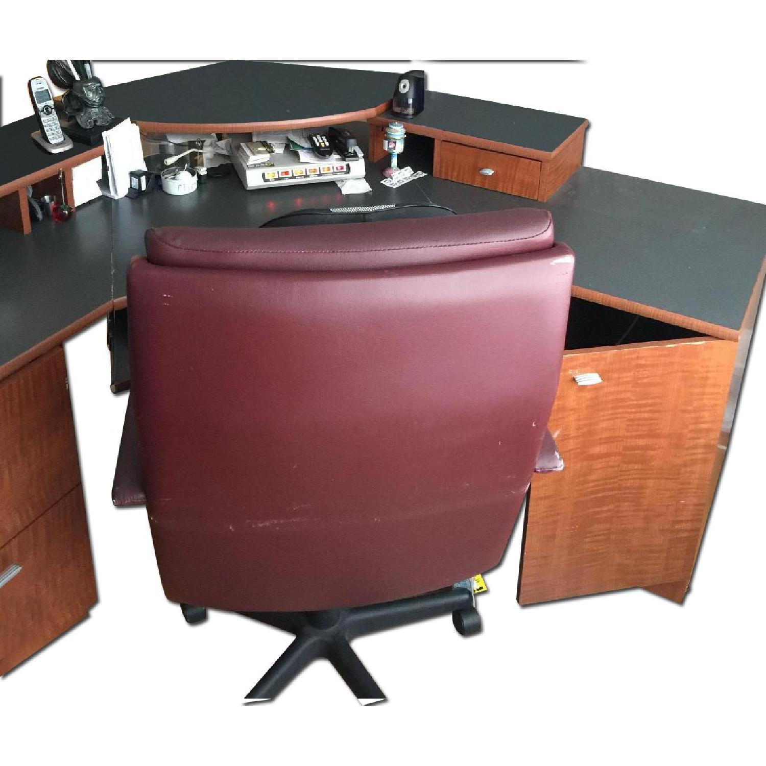 Office Desk & Chair - image-0