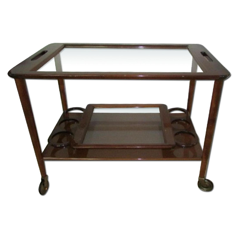 Vintage Tea/Bar Cart - image-0