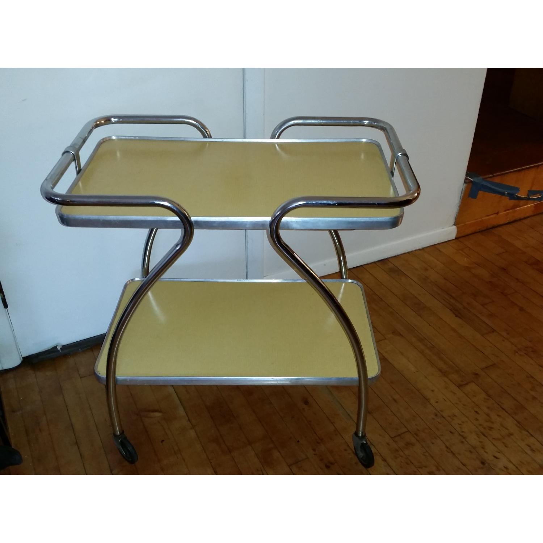 Mid-Century Modern Bar Cart - image-1