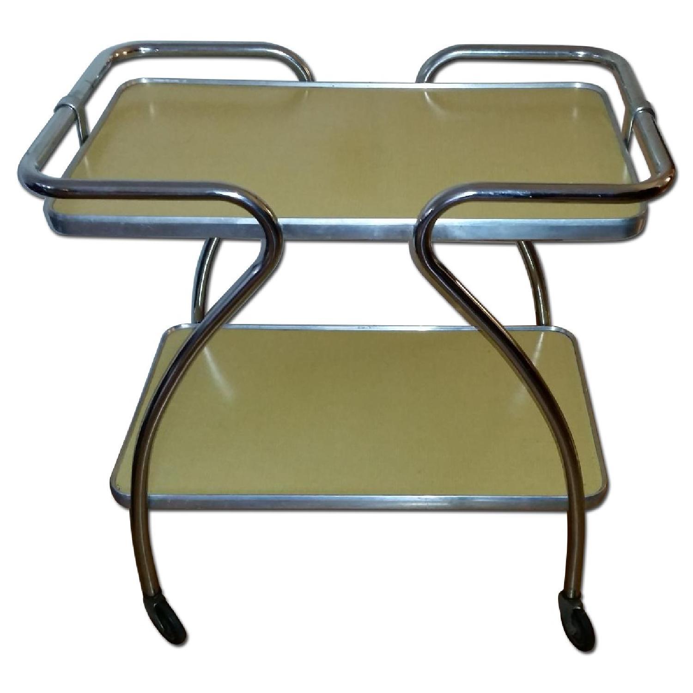 Mid-Century Modern Bar Cart - image-0