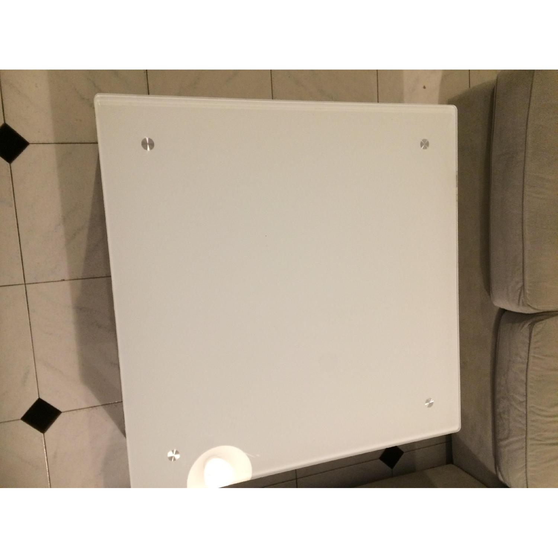 Ikea White Coffee Table - image-1