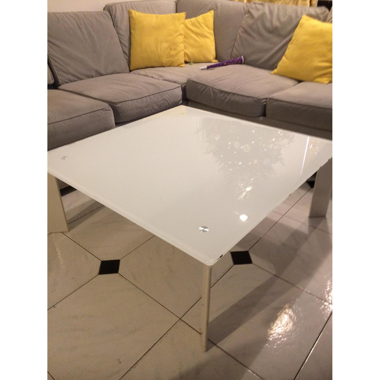 Ikea White Coffee Table - image-3