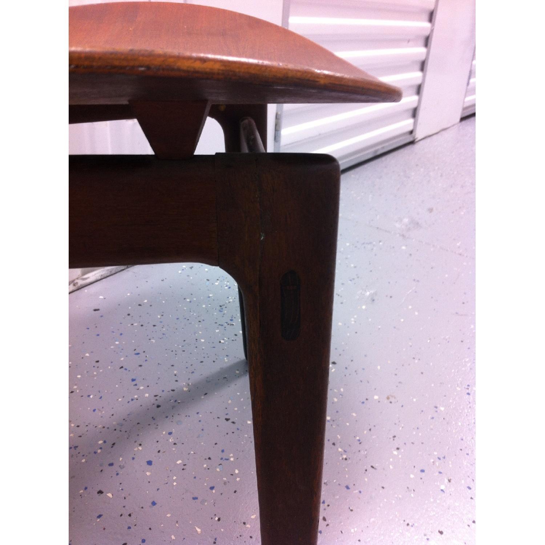Vintage Mid-Century Danish Modern Klismos Chair by Vilhelm Wohlert for Soborg Mobler - image-2