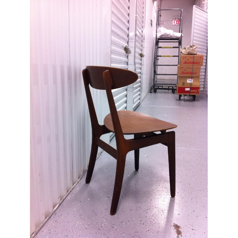 Vintage Mid-Century Danish Modern Klismos Chair by Vilhelm Wohlert for Soborg Mobler - image-4