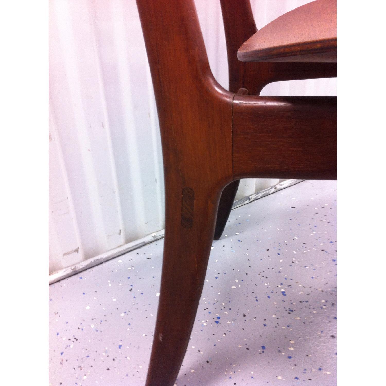 Vintage Mid-Century Danish Modern Klismos Chair by Vilhelm Wohlert for Soborg Mobler - image-5