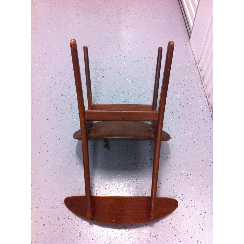 Vintage Mid-Century Danish Modern Klismos Chair by Vilhelm Wohlert for Soborg Mobler - image-8