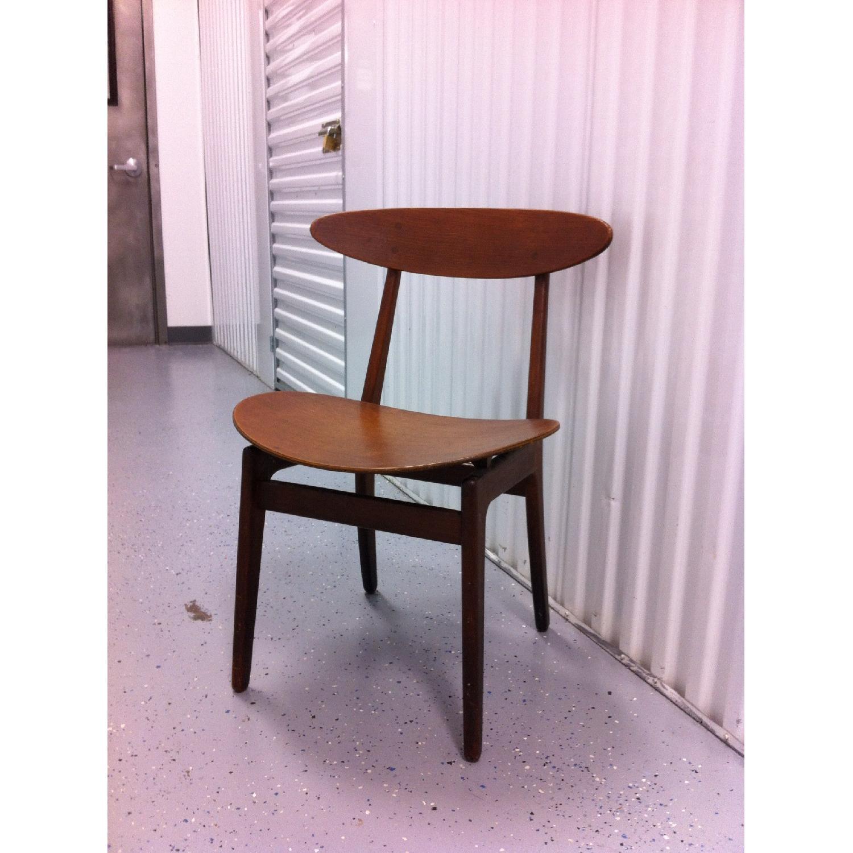 Vintage Mid-Century Danish Modern Klismos Chair by Vilhelm Wohlert for Soborg Mobler - image-10