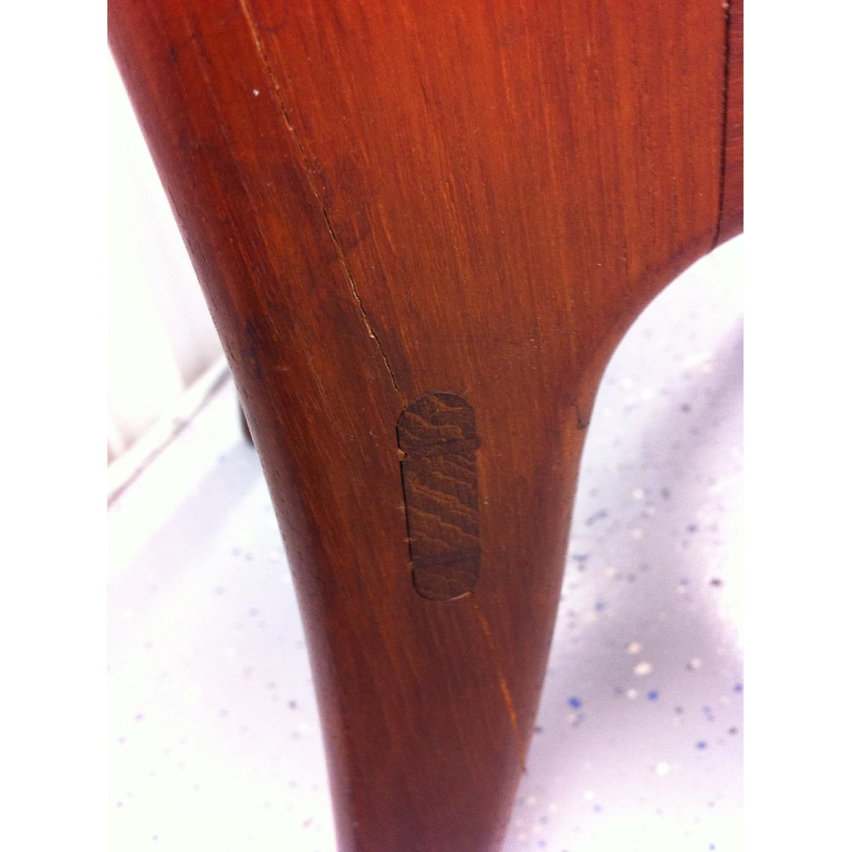 Vintage Mid-Century Danish Modern Klismos Chair by Vilhelm Wohlert for Soborg Mobler - image-11