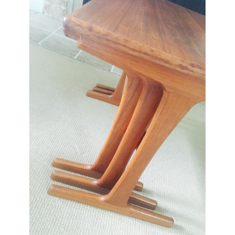 Mid Century Modern Teak Nesting Tables - image-7