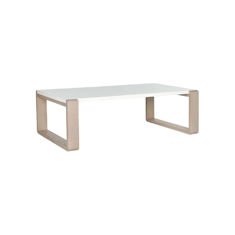 Safavieh Birch & Lacquer Modern Coffee Table - image-1