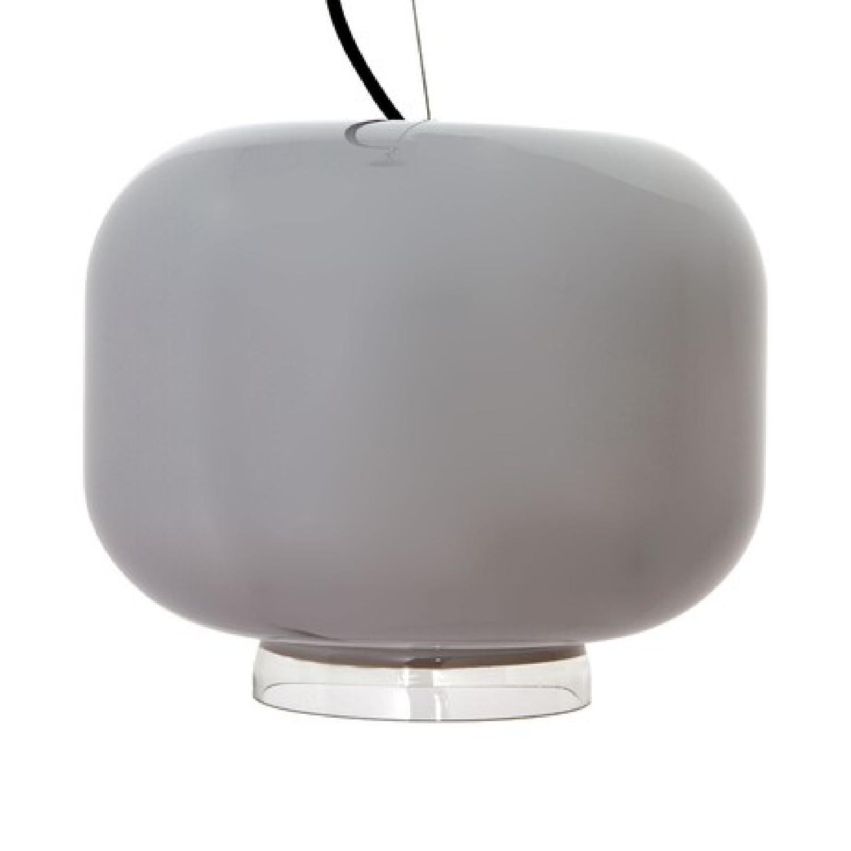Gray Glass Pendant Lights - image-1